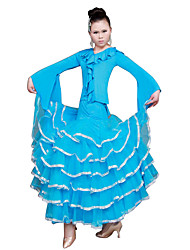 Performance-Modern Dance Meryl Tulle Big Swing-Kleid mehr Farben