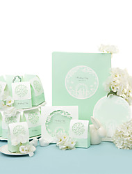 Wonderland Wedding Collection Set (50 Invitations,50 Favor Boxes,10 Place Cards,1 Guest Book)