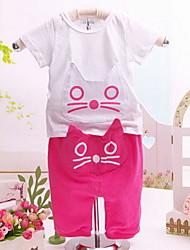 Luva longa Conjuntos Roupas gatinhos para crianças