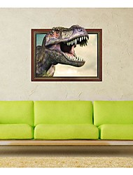 3DThe Dinosaur Stickers muraux Stickers muraux