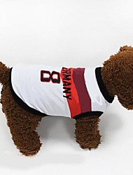 New 2014 World Cup Soccer Sports Germany Vest  for Pet Dogs(Assorted Size)
