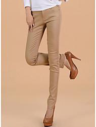 TS Simplicity elasticidad Jeans pitillo lavados Amarillas