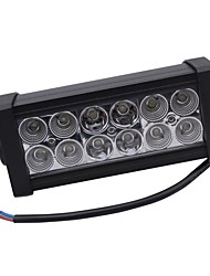 36W Mixing light 6000K 12-Epistar LED work light Bar DIY used in Car/Boat/Auto headlight