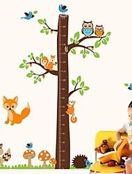 Cartoon милые животные и стикеры стены вала