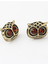 Livin Red Owl Ohrringe