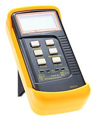 K-Type Digital Microprocessador Termômetro Termopar Dual Channel Contato Termômetro 6802 II (-50 ~ 1300 ℃)