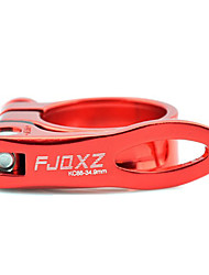 FJQXZ Aluminium Alloy Red Bicycle Seat Post Clamp