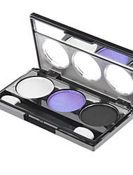 3 Eyeshadow Palette Shimmer Eyeshadow palette Powder Normal Daily Makeup
