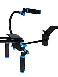yelangu® Двойные ручки + универсальная базовая плата + плечо накладка камеры DSLR плеча буровая установка многофункциональная \ п \ п \ п