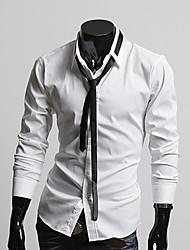 Black Tie camisa do HIEND Homens