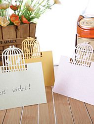 Place Cards and Holders Birdcage Laser Cut Place Card - Set of 12 (More Colors)