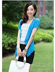Fashion High-End-Temperament Strickjacke Hemd und Spitze Paket-Hüfte-Kleid