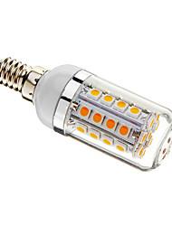 5W E14 LED лампы типа Корн T 36 SMD 5050 480 lm Тёплый белый Регулируемая AC 220-240 V