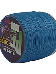 45-60LB 500M PE Braid Blue Line Pesca