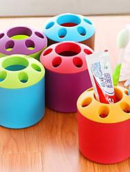 Lovely Colorful Fashion Brush Holder(Random Color)