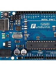 Brand new Funduino Uno R3 ATmega328P-PU ATmega16U2 Board + USB Cable