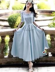 Sexy Lady El Nuevo vestido de princesa Lace Fairy Dress (Su Modelo De Random)