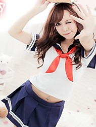 Lingerie sexy studenti Uniform Cosplay Skirt Set