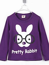 Kinderen Leuke Ronde Kraag Rabbit Cartoon Lange Koker