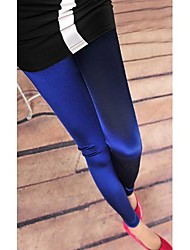 Women's High Quality Silk Feeling Solid Color Pants Leggings