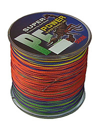 70-100LB 500M PE Braid Colorful Fishing Line