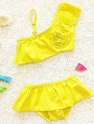 Girl's Swimwear Nylon Summer