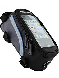 Cycling Polyester Transparent PVC Waterproof Damping Bicycle Tube Touch Screen Mobile Phone Bag