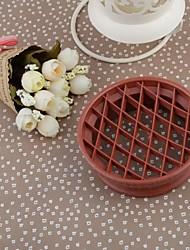 Пластиковые Ананас прессформы торта, 10.5x9x3.5cm