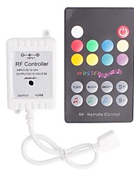 RF Music LED Strip Controller with Remote Control for LED Light (72 W 12~24 V)