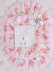 Princess Pink Style Light Switch Stickers
