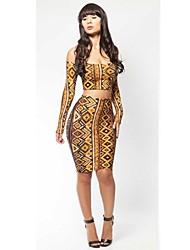 Женская Экспорт Мода Sexy Bodycon Платье повязки