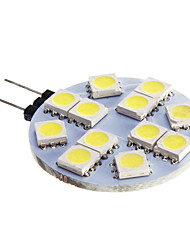 6W G4 LED Spotlight 12 SMD 5050 420 lm Cool White DC 12 V