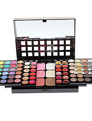Make-up For You Multi-layer Professional 78 Color Eye Shadow Palette with Lip Gloss