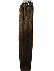 22inch anillo micro Lazo extensión del pelo de Remy 15 colores 0,5 G / S 100S/pack