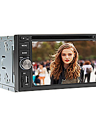 6,2 polegadas android 4.4.2 2DIN carro dvd player in-dash com bt, rds, gps, construir-in Wi-Fi, 3G, ipod, tv, tela capacitiva