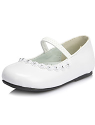 Girl's Shoes Wedding Shoes Comfort/Mary Jane Flats Wedding/Dress Black/Pink/White
