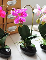 """11 """"h orchidée papillon arrangement floral (couleur envoyés au hasard)"""