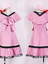 Cosplay Inspirado en Macross Frontier Ranka Lee Lolita vestido rosa