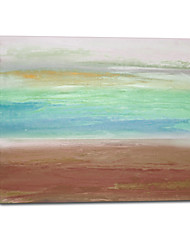 Hand Painted Oil Painting Abstract Canvas Wall Painting with Stretched Frame