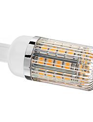 5W G9 Lâmpadas Espiga T 36 SMD 5050 480 lm Branco Quente Regulável AC 220-240 V