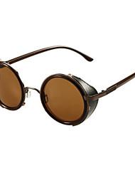 Unisex Elegant Brown-Frame Sunglasses