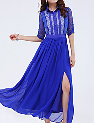 Zhulifang Women's Bohemian Style Chiffon Dress