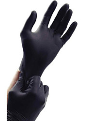 Black Nitrile Exam Latex-Free Tattoo Gloves