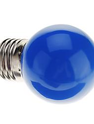 0.5W E26/E27 Ampoules Globe LED G45 7 LED Dip 50 lm Bleu Décorative AC 100-240 V