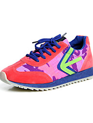 Women's Walking Shoes Suede Blue