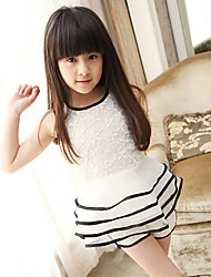 Girl's Clothing Set Lace All Seasons