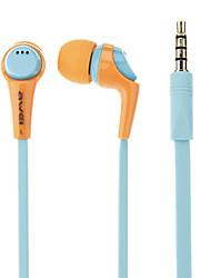 awei Q6I stereo geluidsisolerende in-ear oortelefoon met microfoon (diverse kleuren) voor iphone6 / iphone6 plus
