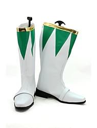 Power Ranger Zyurangers Burai hombres Cosplay Shoes