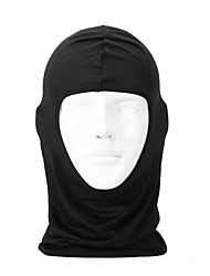balaclava/Face Mask Cycling Unisex Lycra Ultralight Black Protective