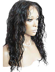 18inch Hot Sale Beauty 100% Indian Human Hair Full Lace Wig